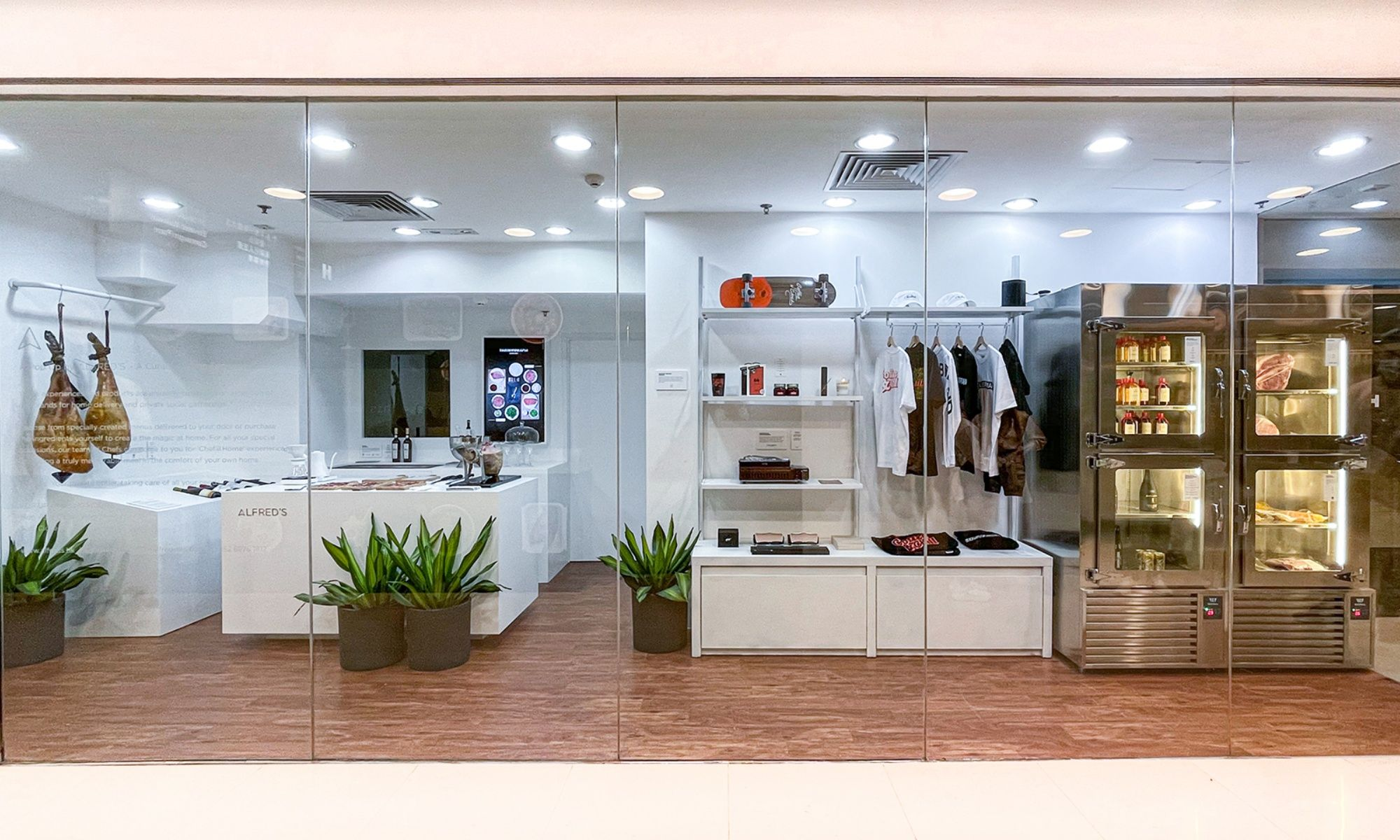 Alfred's Pop-Up Store at Jardine House