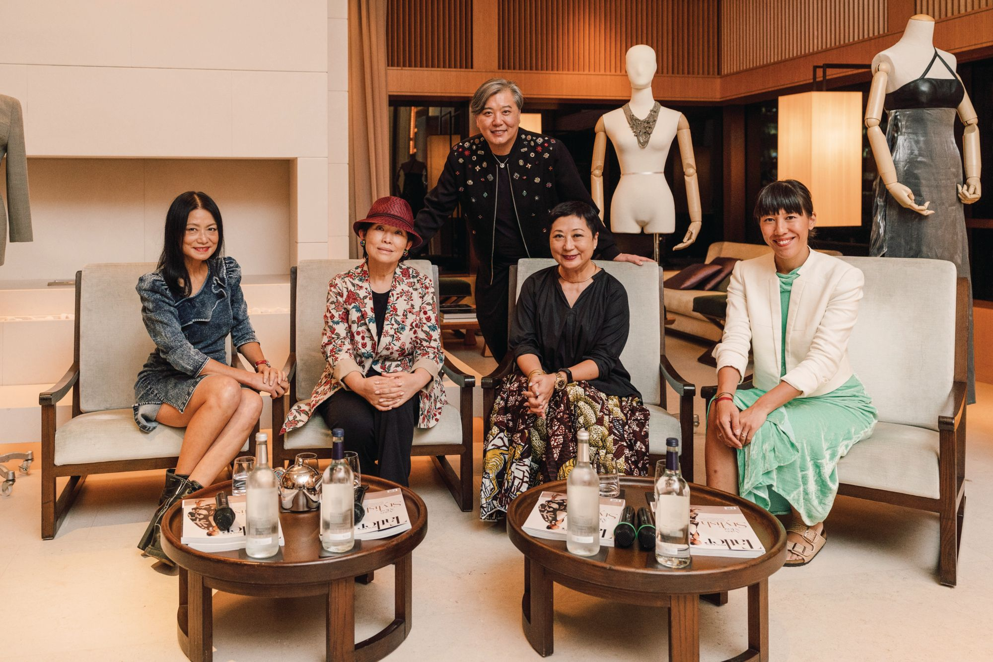 Peter Cheung Hosts A Panel Discussion Featuring Fashion Industry Experts For Tatler's House Stories Session