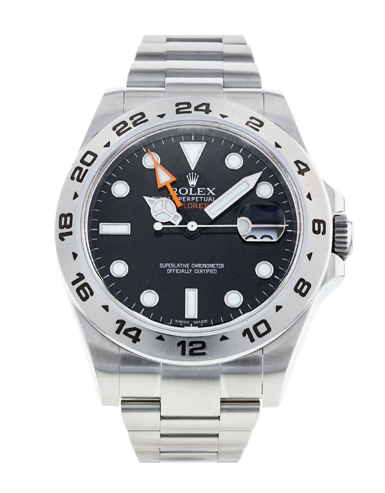 What's So Special About This Rolex Explorer II Ref 216570? Glad You Asked