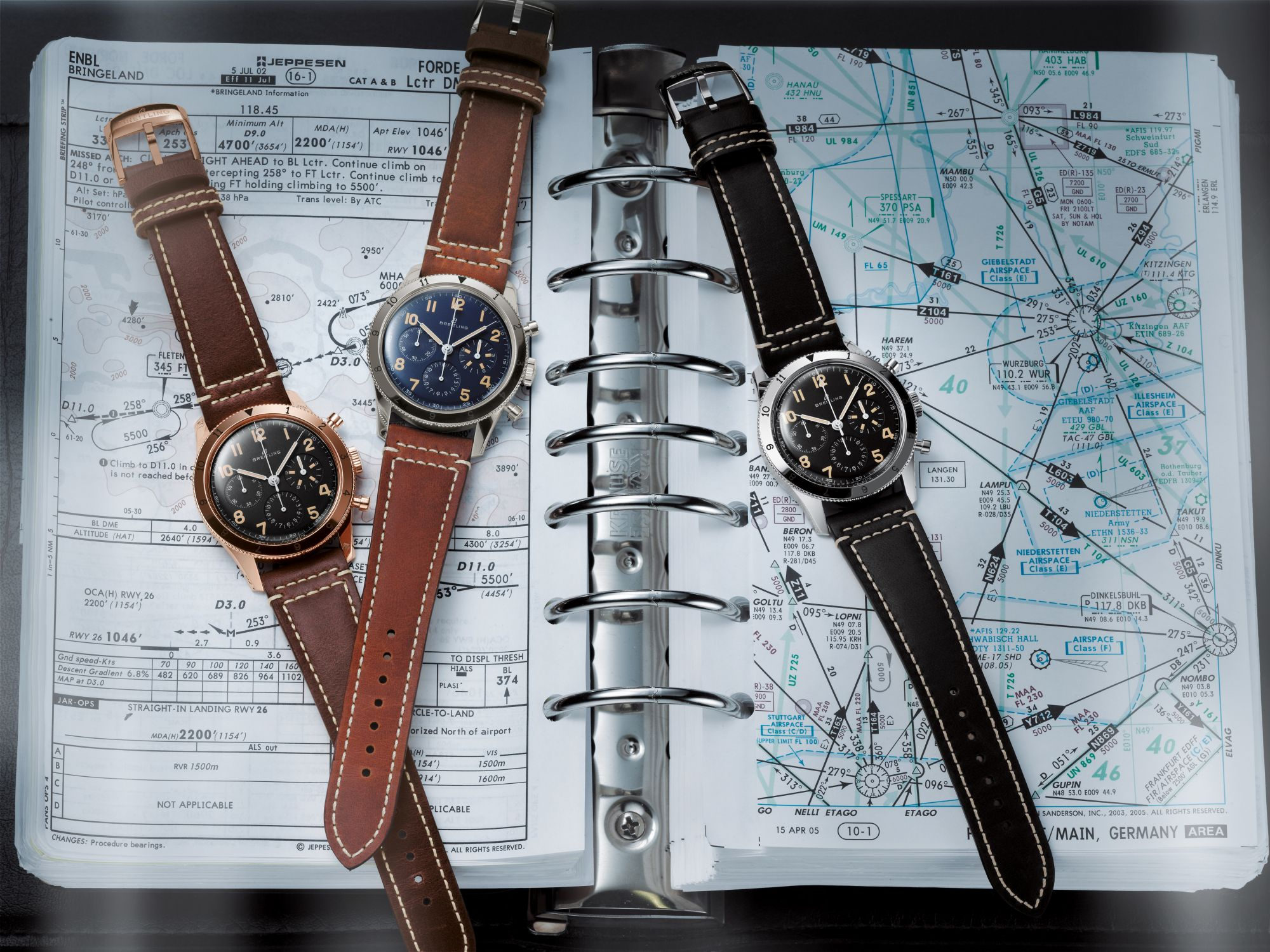 AVI Ref. 765 1953 Re-Edition and AVI 1953 Edition watches