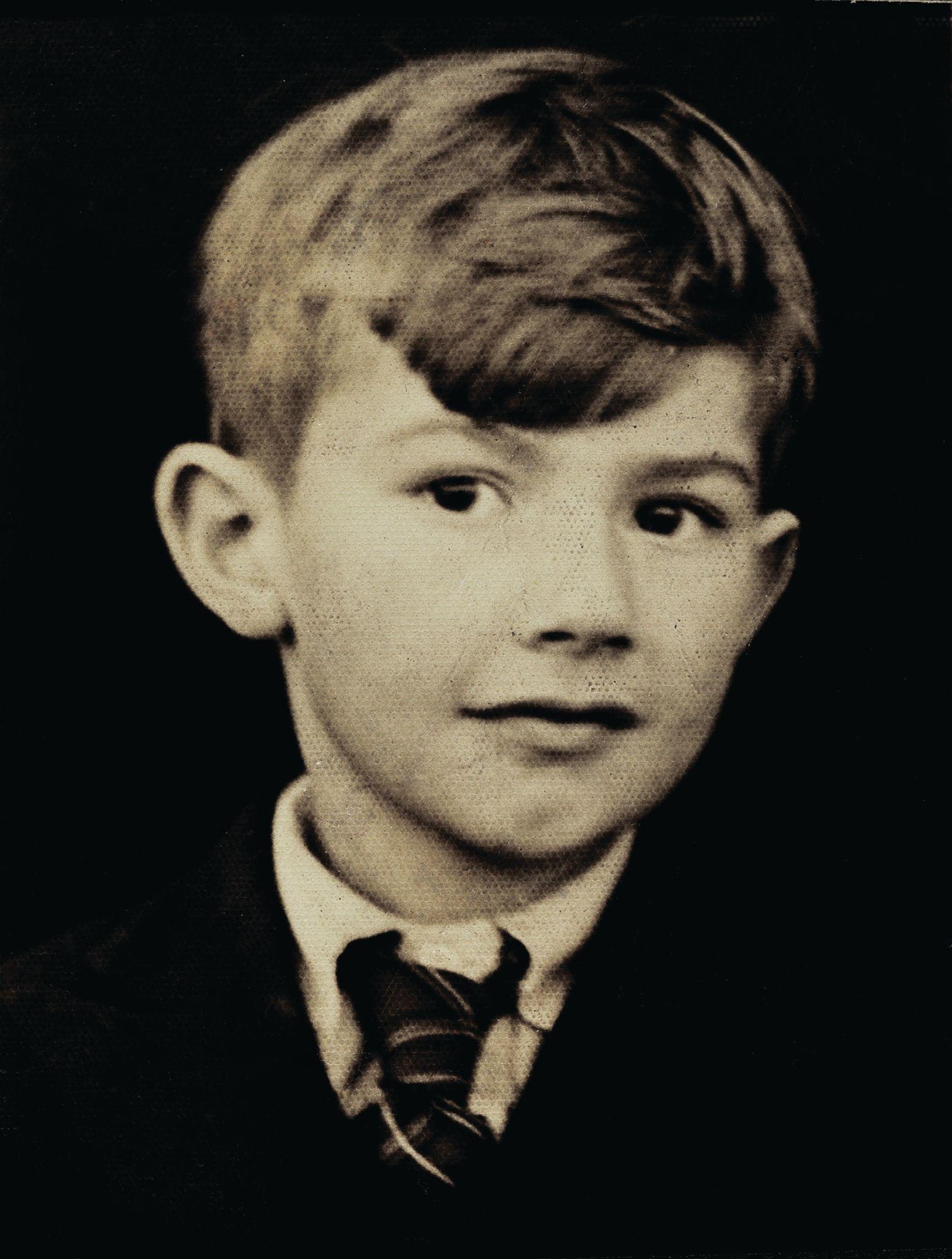 Paul Smith 早期的照片。