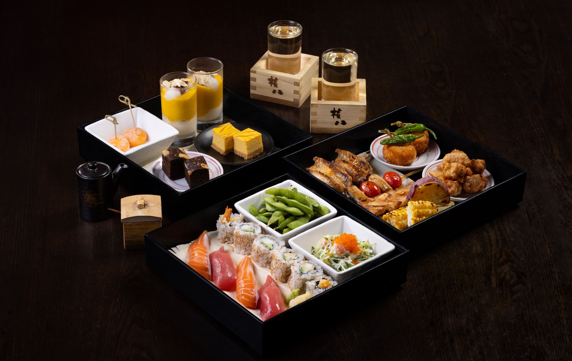 Gonpachi Launches New Japanese Afternoon Tea Set