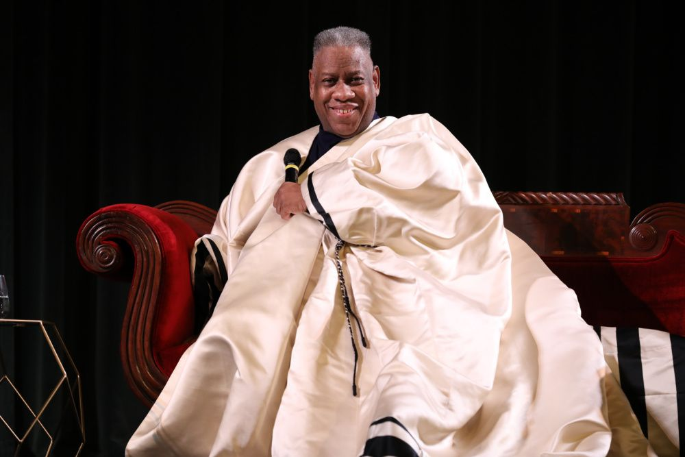 Andre Leon Talley appears in the new Ugg campaign (photo: Getty Images)