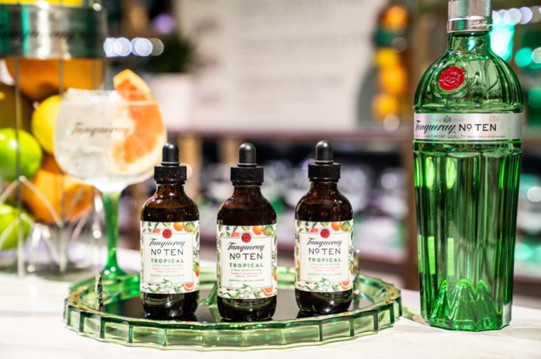 Taste The Tropics With Tanqueray No. Ten Tropical Citrus Heart Bitters