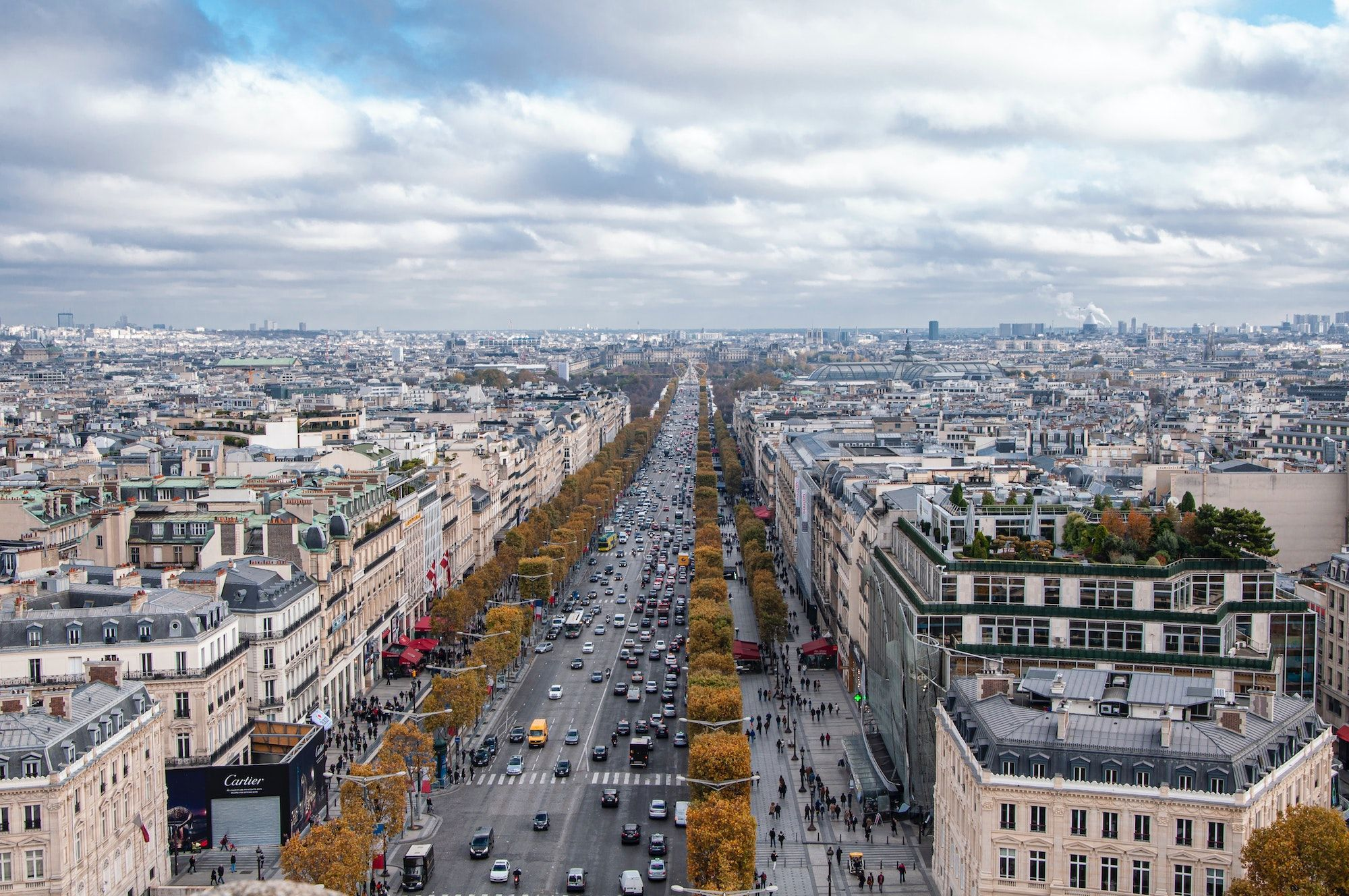 The Iconic Champs-Élysées Will Be Getting A New Look After The 2024 Olympic Games