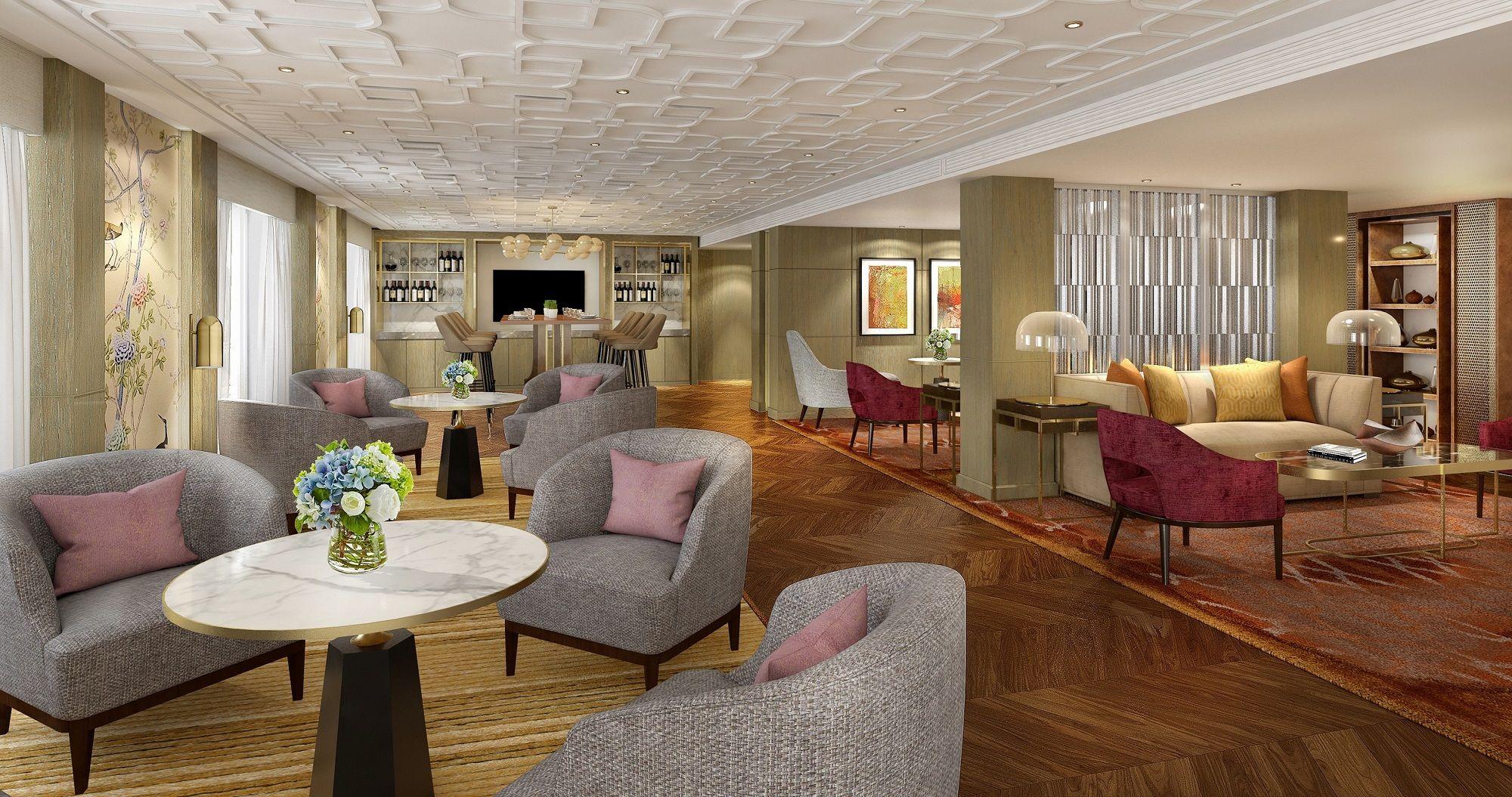 Mandarin Oriental Hong Kong - Club Lounge