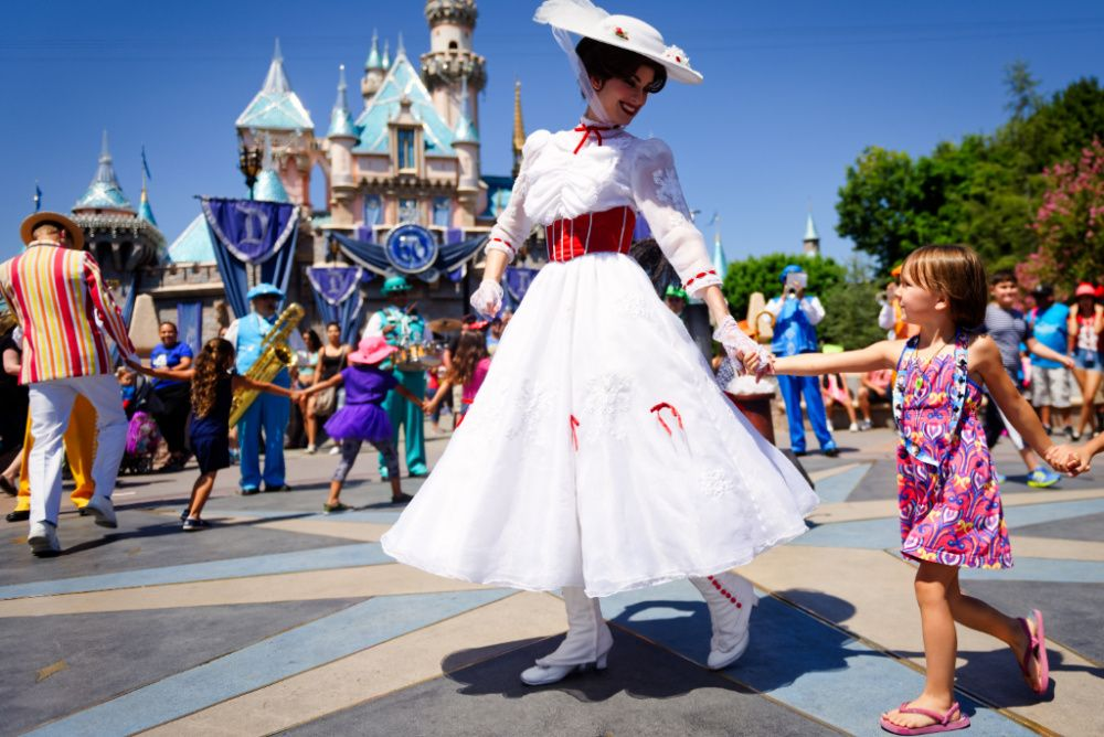 Disneyland in Anaheim will become Orange County's first point of dispensing site for Covid vaccines (photo: Getty Images)