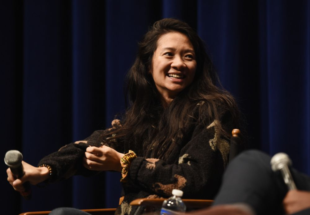 Chloe Zhao in 2018 (photo: Getty Images)