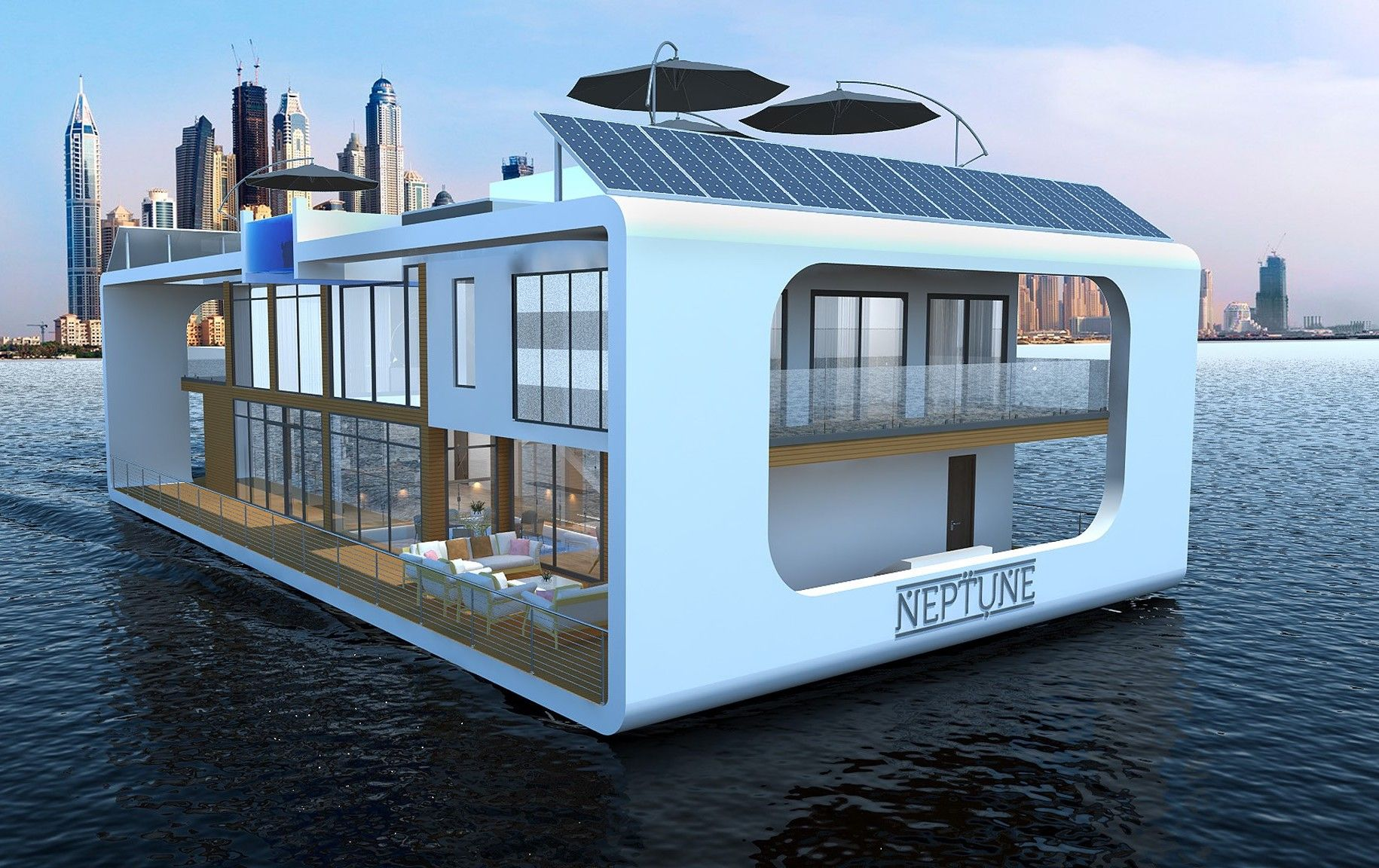 The World's First Floating Luxury Resort Is Set To Open In Dubai