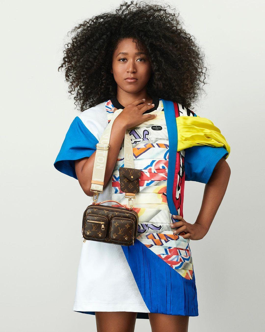 naomi osaka - louis vuitton new brand ambassador
