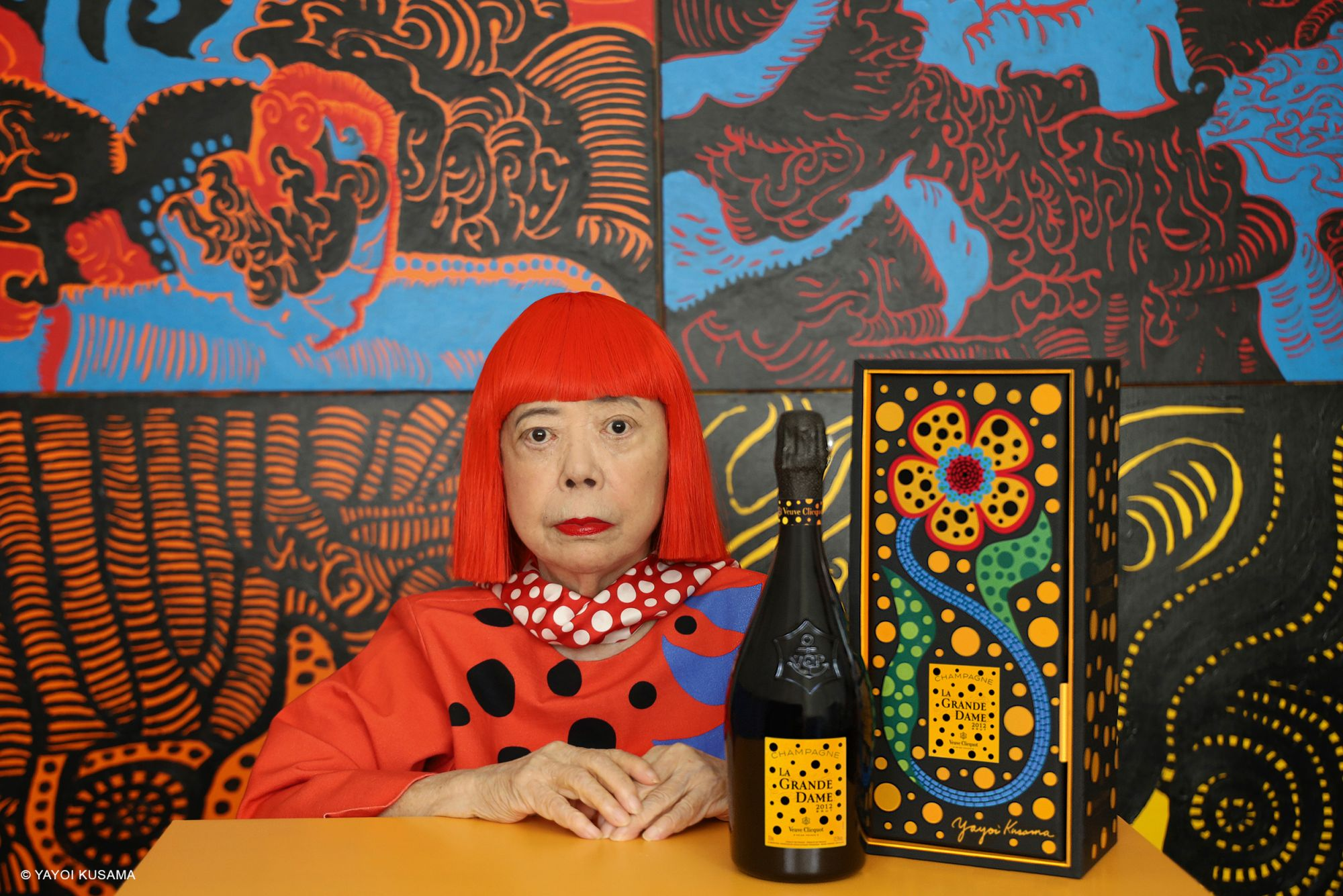 Yayoi Kusama x Veuve Clicquot Collaboration Is A Tribute To La Grande Dame Of Champagne