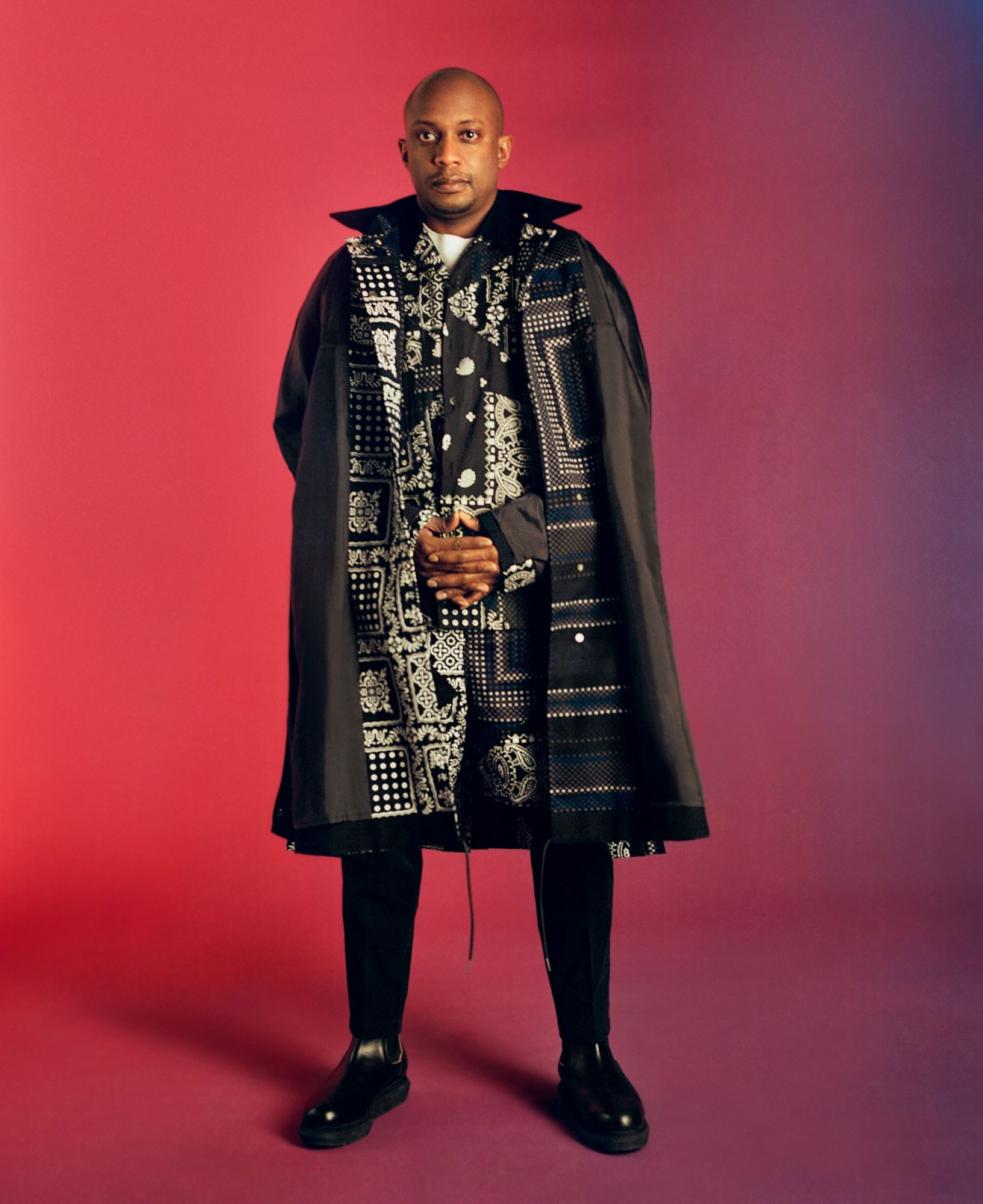 """Sacai Teams Up With Artist Hank Willis Thomas For SS21 """"Love Over Rules"""" Collection"""