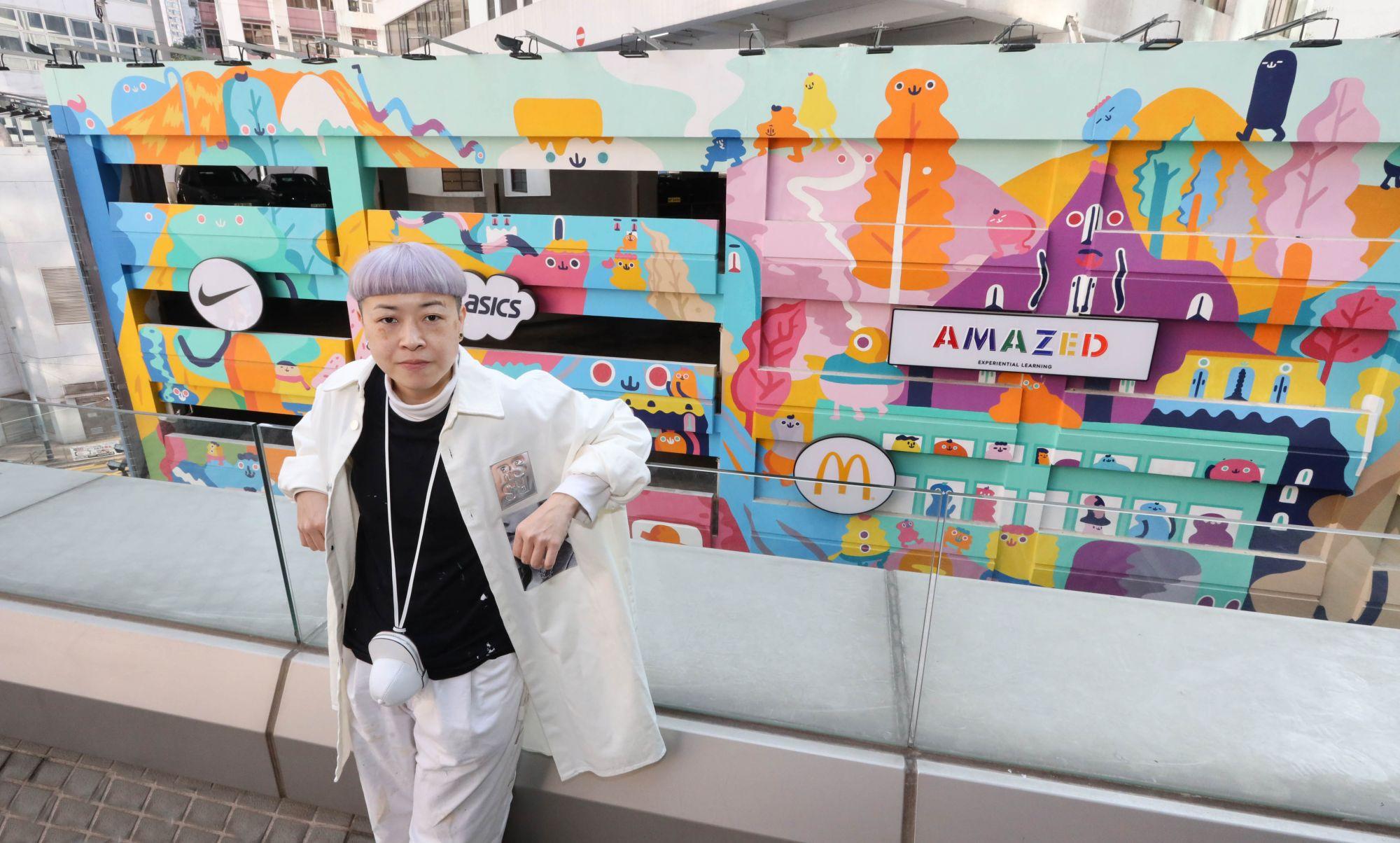 Hysan Mural Design Showcase Splashes Two Award-Winning Murals Across Causeway Bay