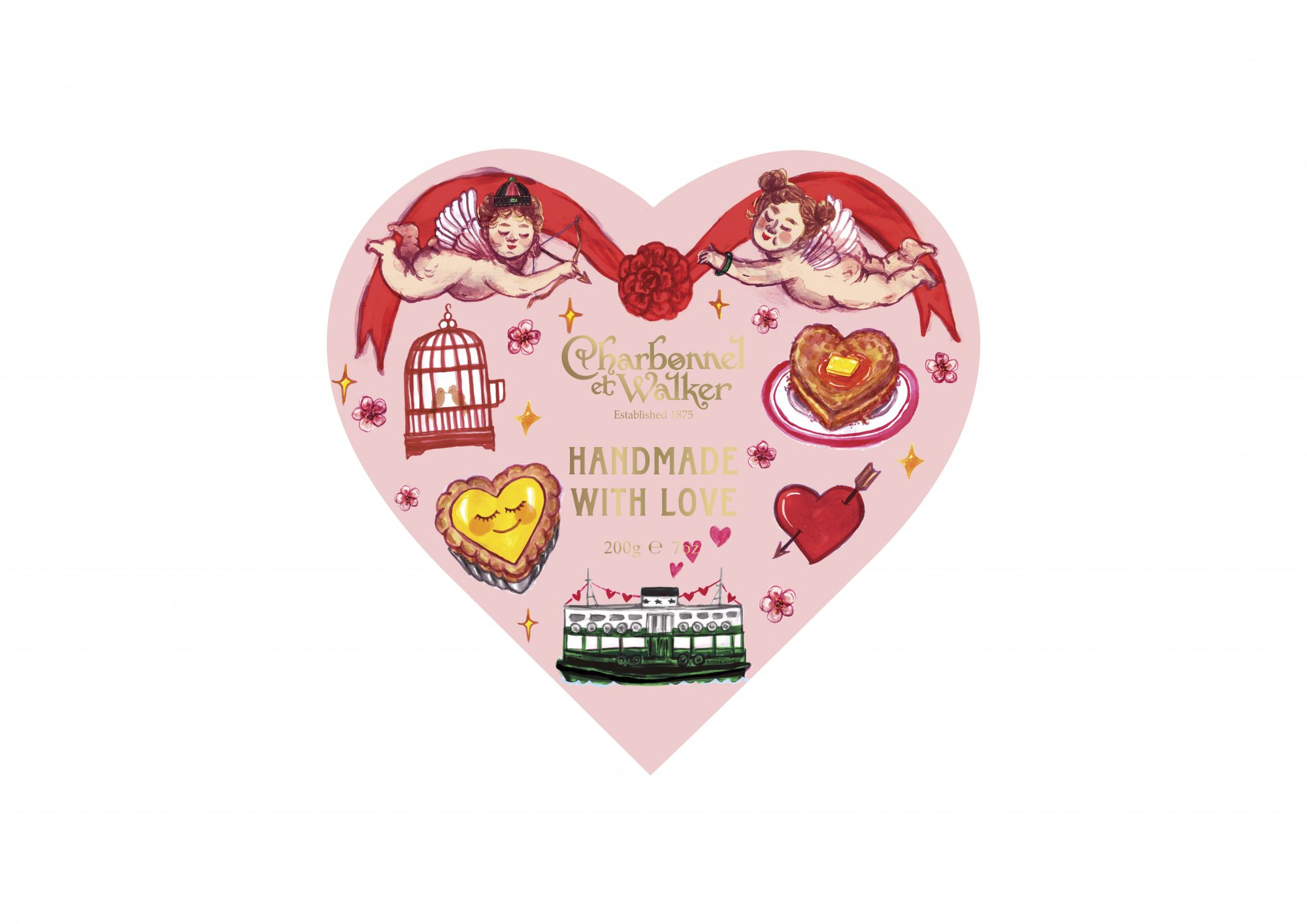 Valentine's Day 2021: Charbonnel Et Walker And Hong Kong Illustrator Kitty Wong's Cute Chocolate Box Crossover
