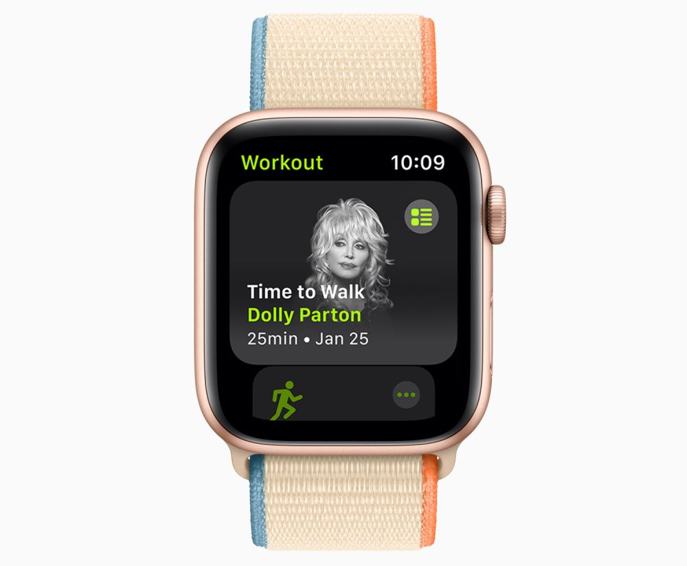 Apple launches Time to Walk, featuring celebrity audio content (photo: Courtesy Apple)