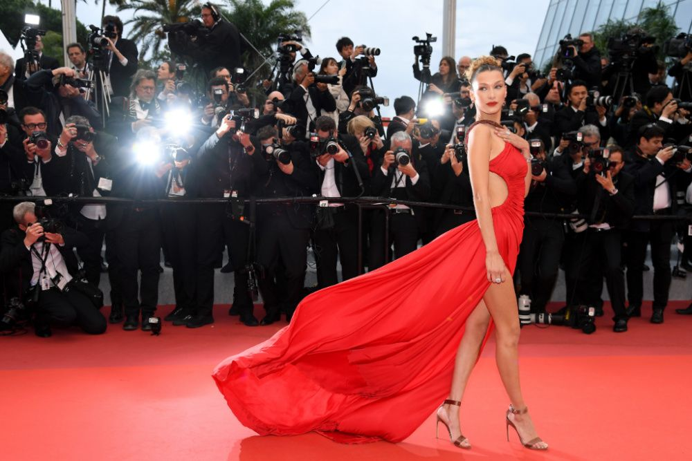 Bella Hadid at the 2019 Cannes Film Festival (photo: Getty Images)