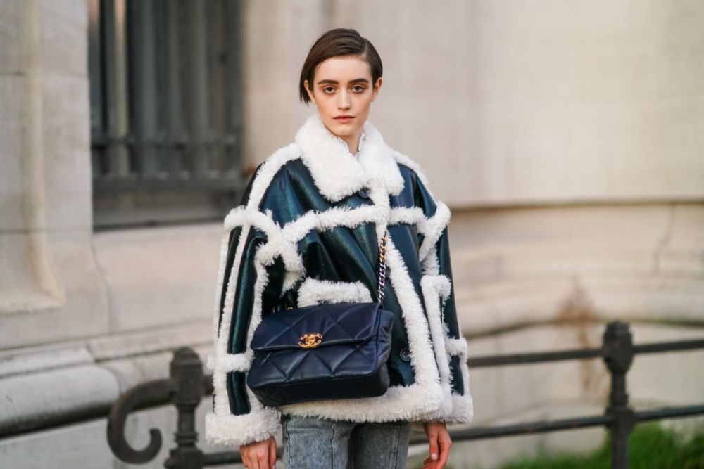 Paris Haute Couture spring 2021 street style (photo: Edward Berthelot/Getty Images)