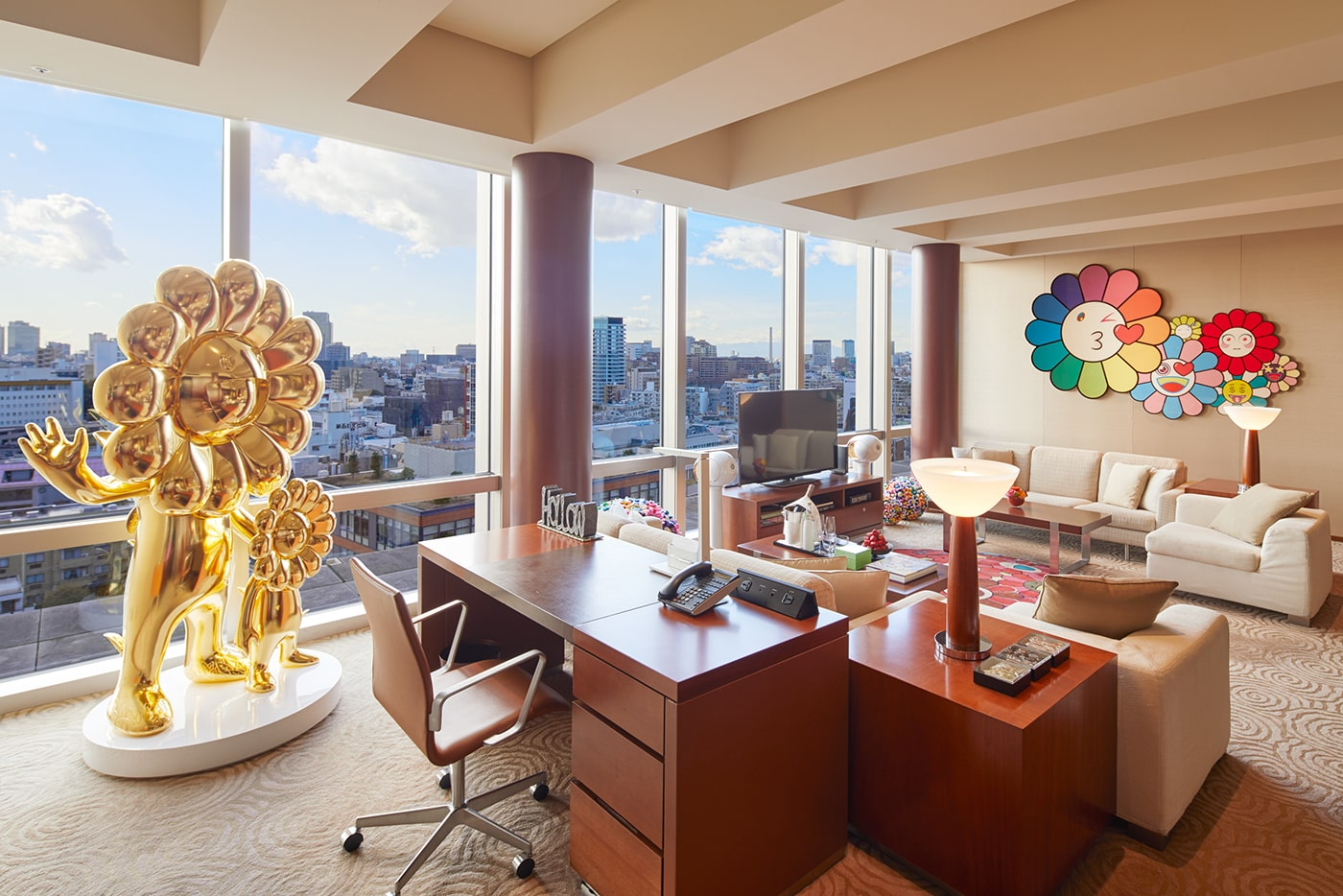 The World's First Takashi Murakami-Designed Hotel Room Is Now Available At Grand Hyatt Tokyo