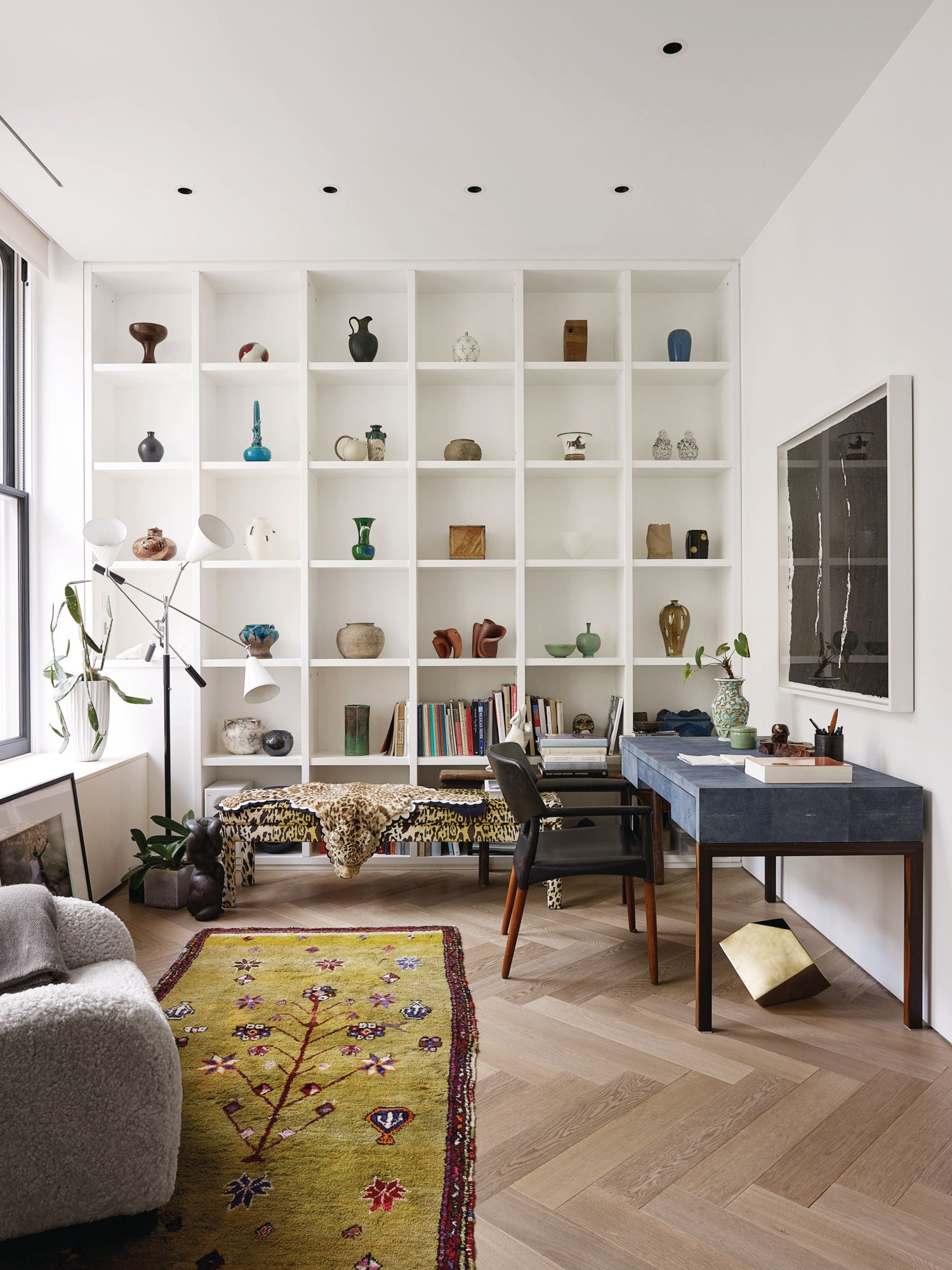 時裝設計師 Phillip Lim 的家宛如居家工作的夢想地點。(Photo: Wichmann + Bendtsen for Tatler Hong Kong)