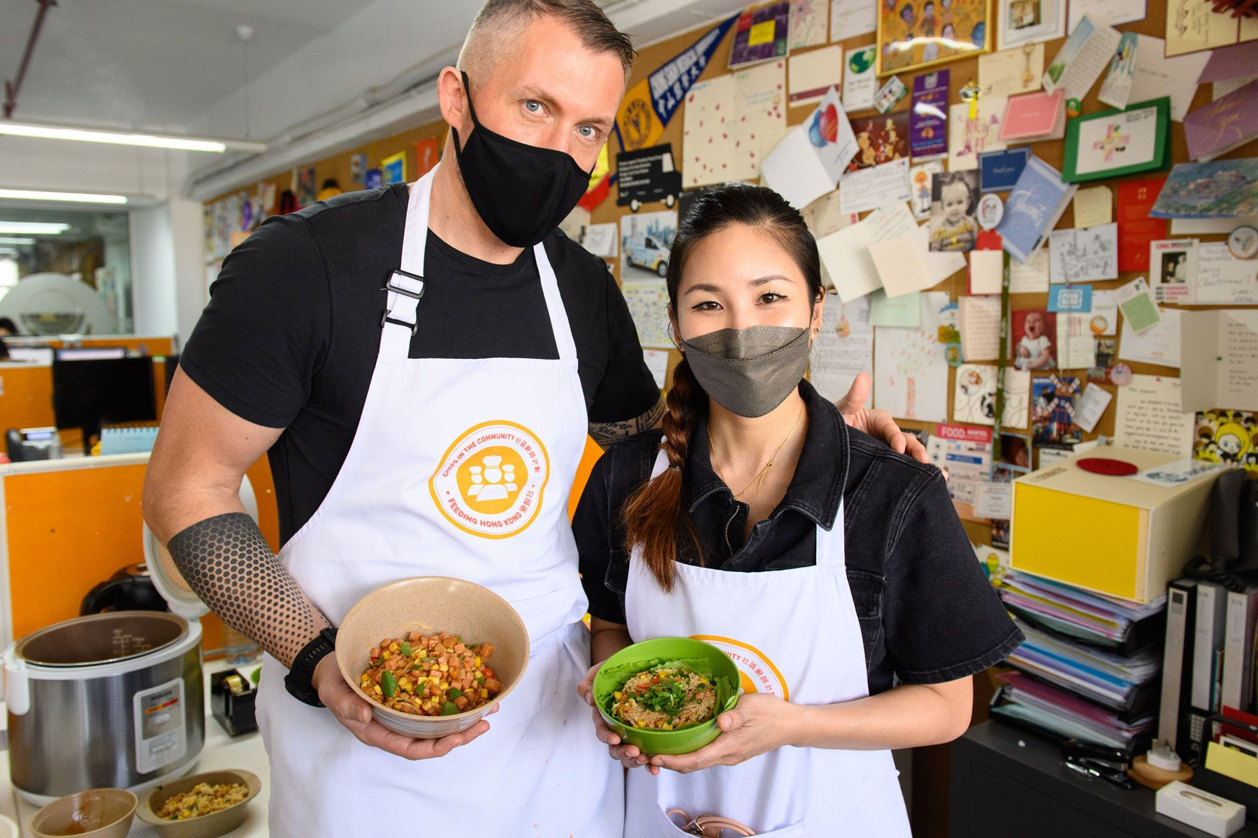 Feeding Hong Kong Invites Eight Chefs To Cook and Learn about Food Insecurity Ahead Of Lunar New Year