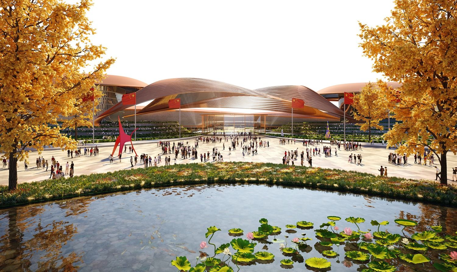 Zaha Hadid Architects Tapped To Design Phase Two Of Beijing's International Exhibition Centre