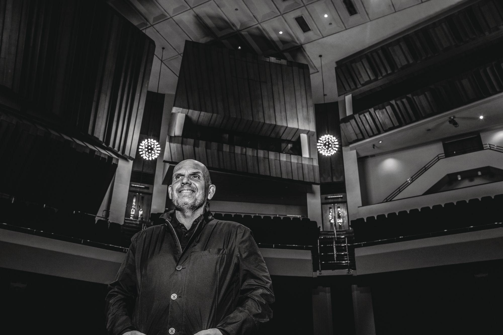 Jaap van Zweden, music director of the Hong Kong Philharmonic Orchestra (Photo: Michaela Giles for Tatler Hong Kong)