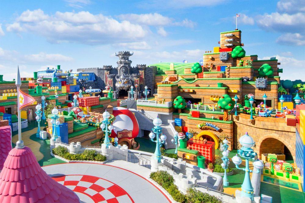Super Nintendo World opens at Universal Studios Japan in Osaka (photo: Universal Studios Japan)