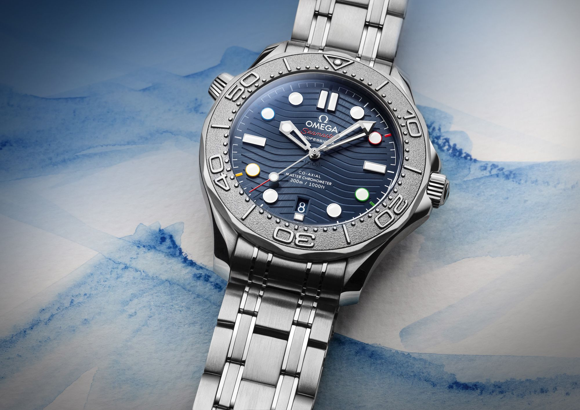 Omega Has Dropped A Special Edition Timepiece In Honour Of The 2022 Beijing Winter Olympics