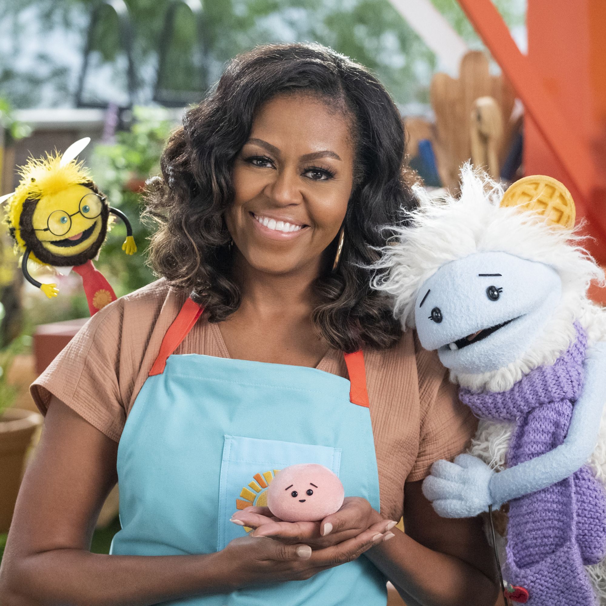 Michelle Obama To Star in New Netflix Show, Waffles + Mochi