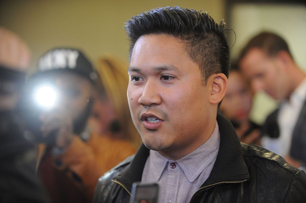 Basco attends the Pinoy Relief Benefit Concert at Madison Square Garden on March 11, 2014 in New York City. (Photo by Brad Barket/Getty Images)