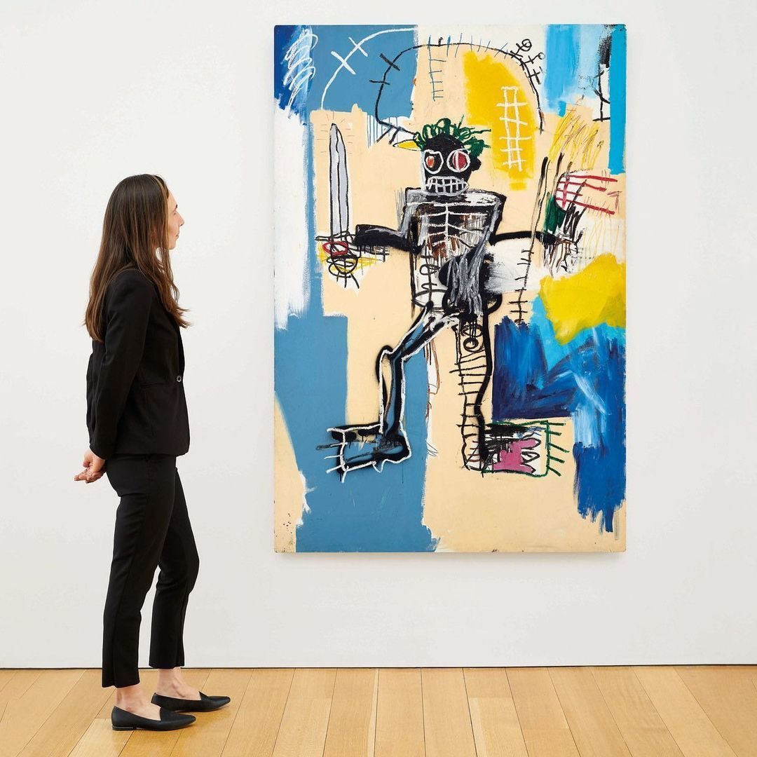 """Jean-Michel Basquiat's """"Warrior"""" Estimated To Fetch Over US$40 Million At Auction This March"""