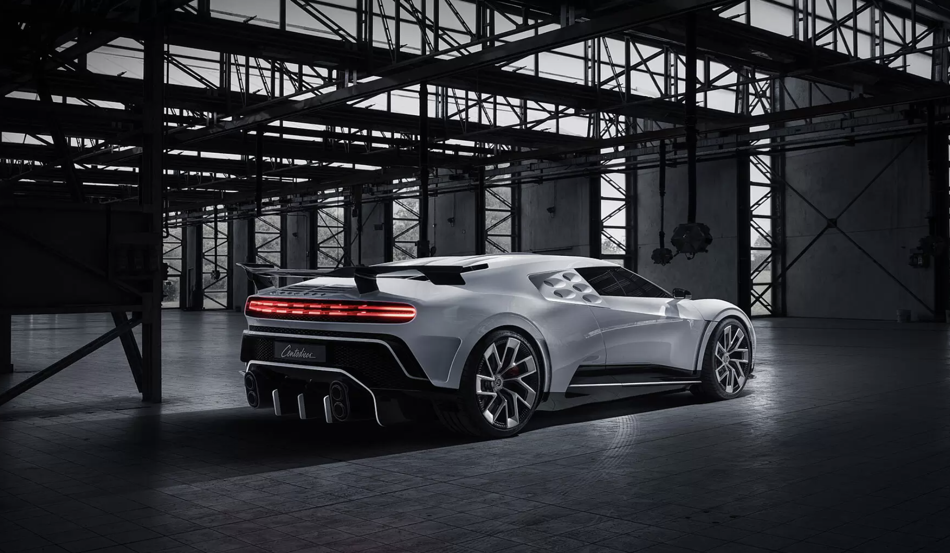Bugatti Has Just Unveiled Its Ultra-Exclusive US$9.6M Centodieci Hypercar Prototype