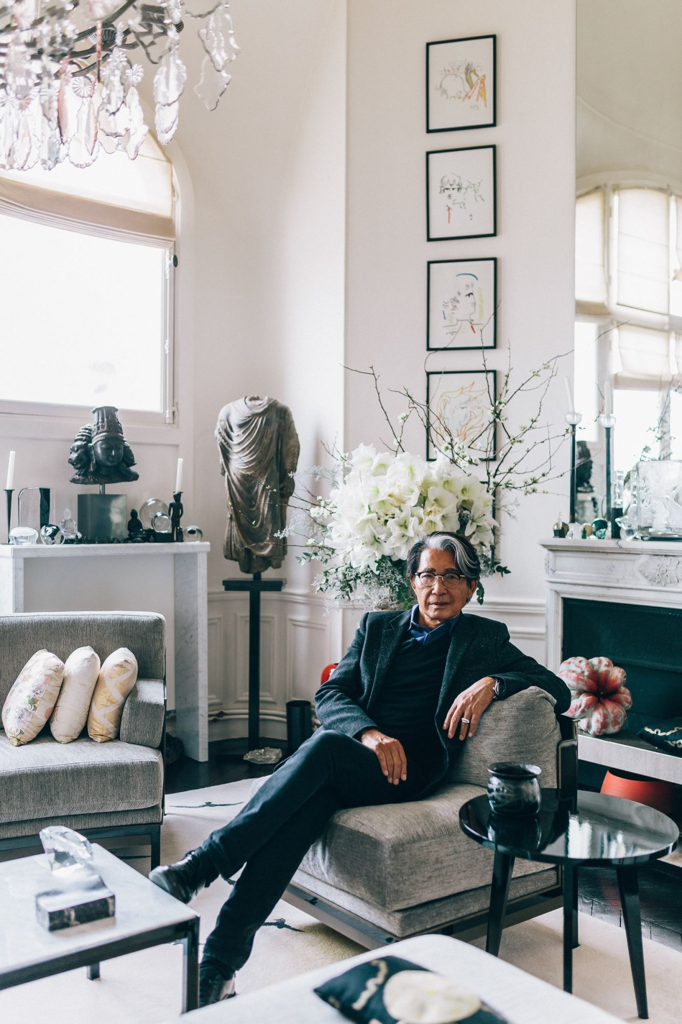 Items From Kenzo Takada's Paris Apartment Up For Auction This May