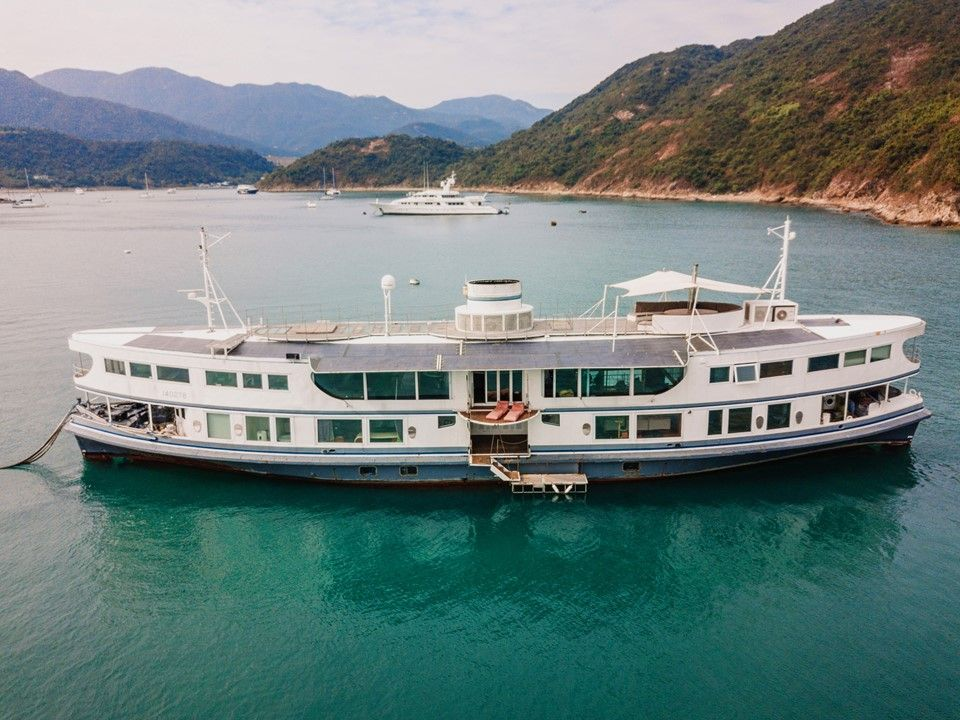 You Can Live On a Star Ferry Converted Luxury Yacht for HK$21 Million