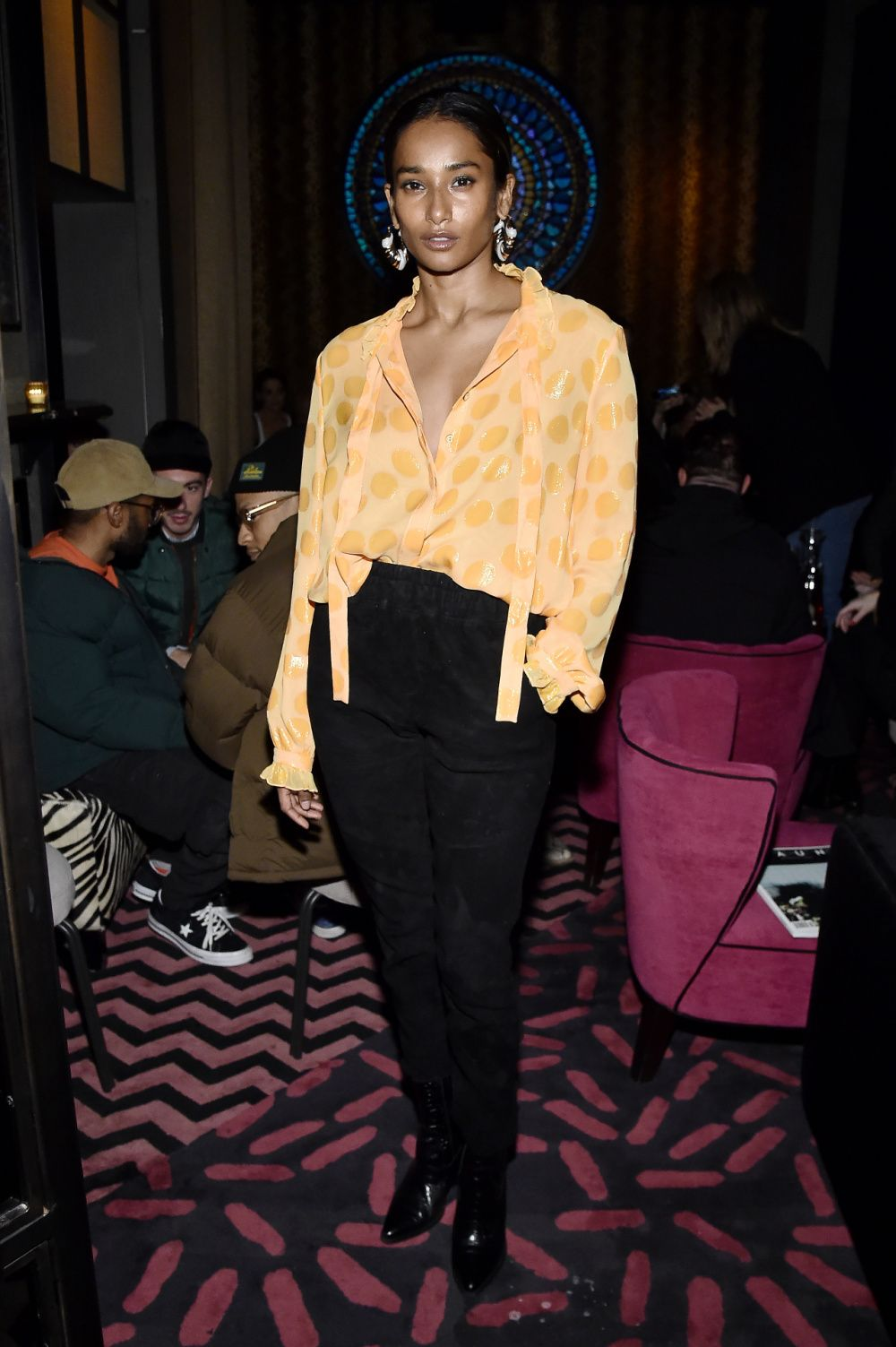 Nidhi Sunil at The Butterfly at Sixty Soho on February 08, 2020 in New York City. (Photo by Steven Ferdman/Getty Images)