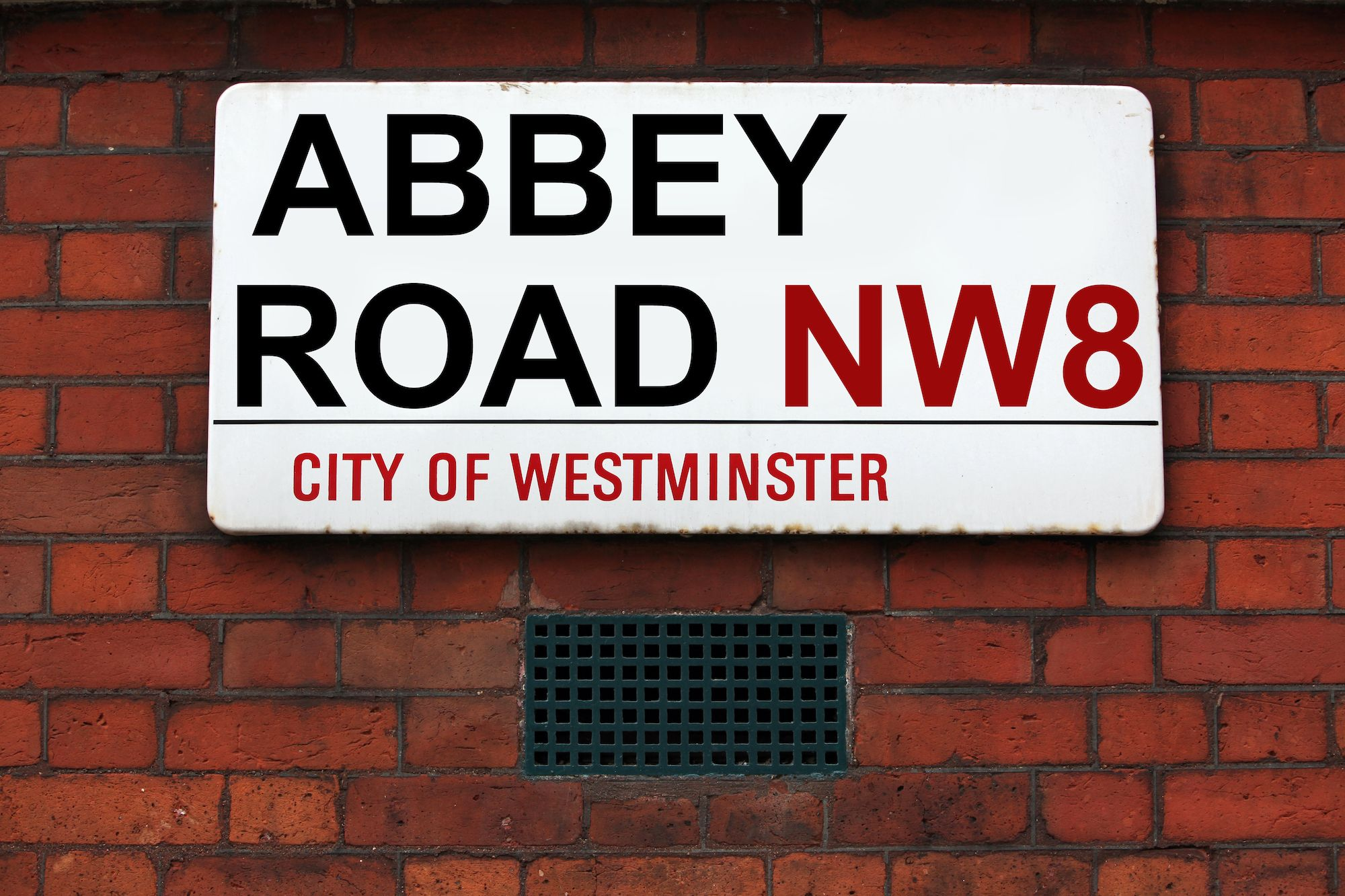 The Abbey Road Sign Made Famous By The Beatles Is Hitting The Auction Block