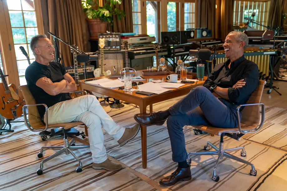 Barack Obama Launches Spotify-Exclusive Podcast With Bruce Springsteen