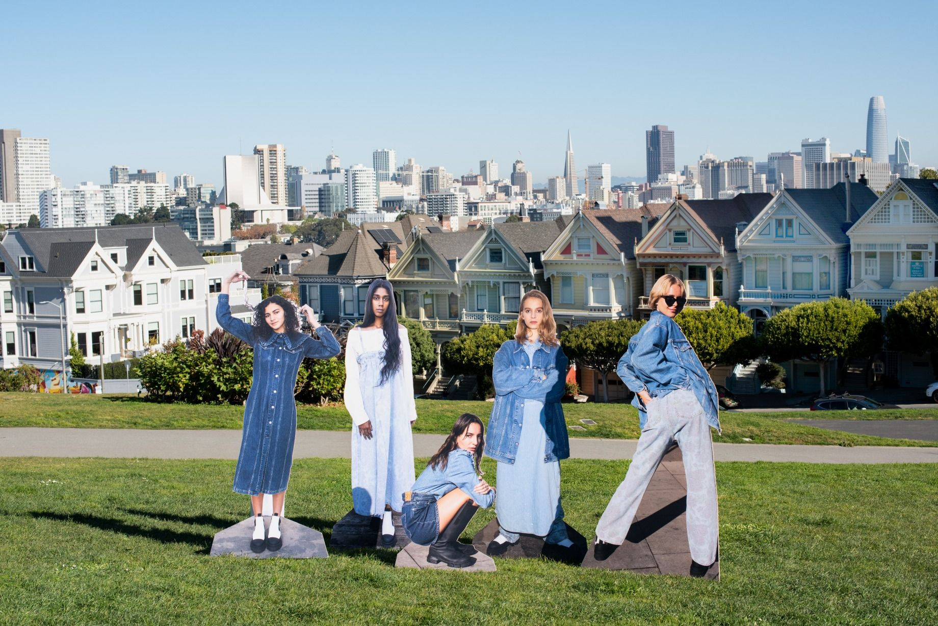 Levi's x Ganni Collaboration Is Back With A Sustainable Denim Collection