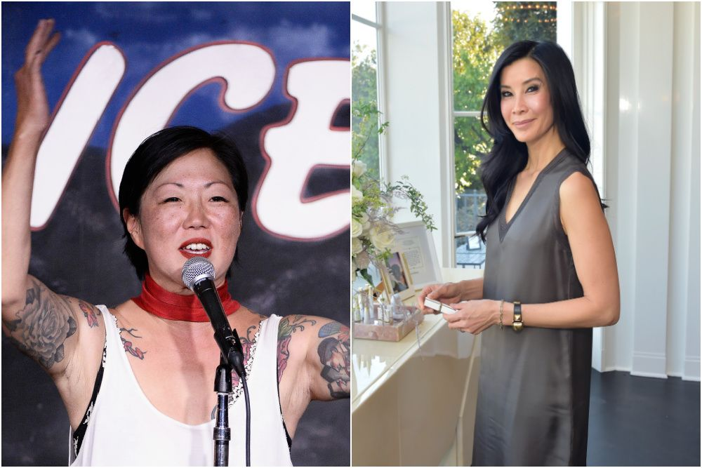 Margaret Cho and Lisa Ling will speak at a Clubhouse AAPI fundraiser (photos: Getty Images)
