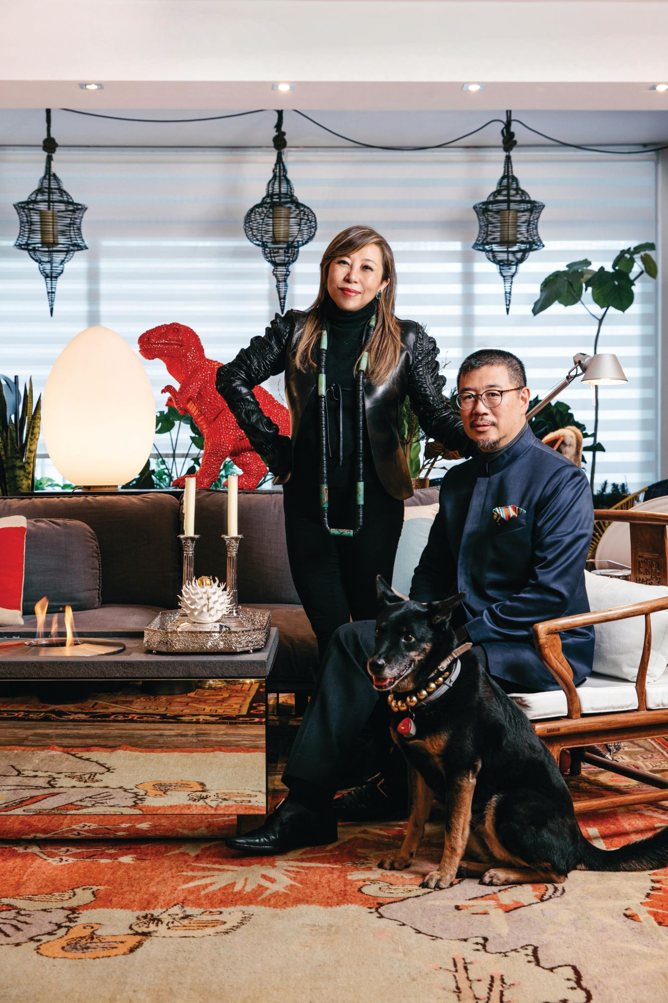 Inside Lumen And Andrew Kinoshita's Art-Filled Luxury Home In Mid Levels