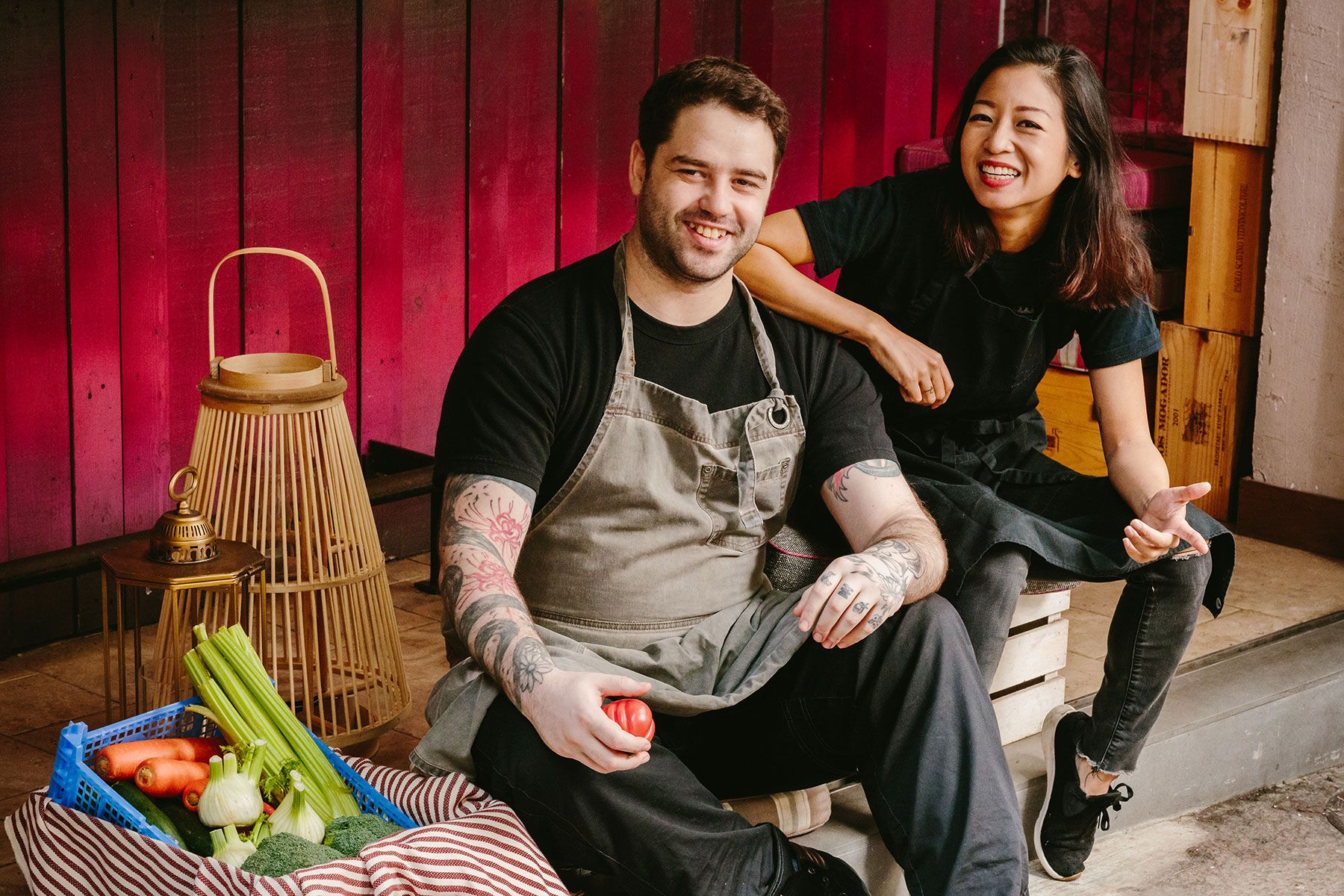 Earth Hour 2021: Bedu's Corey Riches Joins Forces With Chef Peggy Chan For A Sustainable Feast