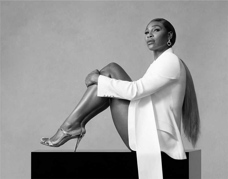 Serena Williams And Daughter Olympia Lead Stuart Weitzman's Spring Campaign