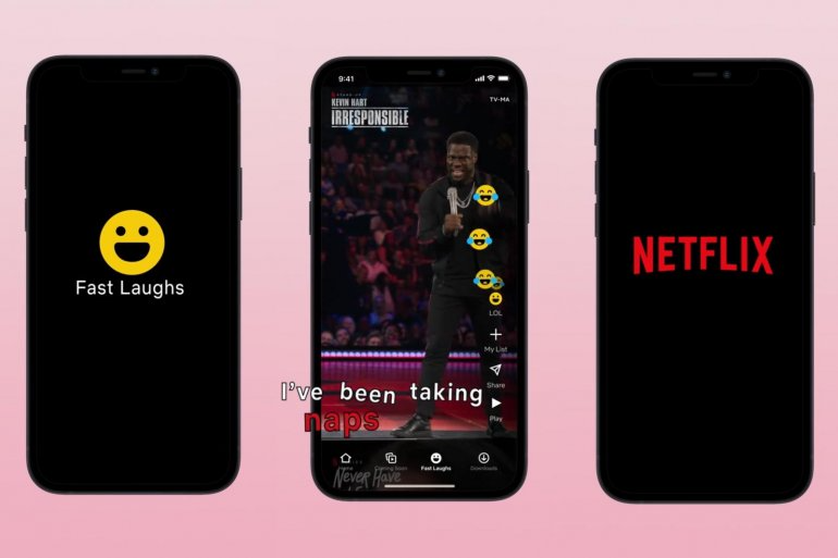 Netflix Debuts Fast Laughs, a New Feature That is Similar to TikTok