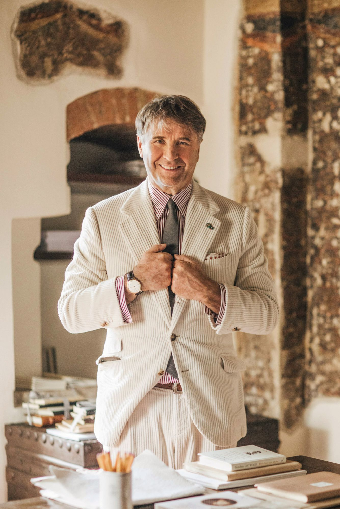 Brunello Cucinelli On His Father's Advice That Has Helped Through The Pandemic