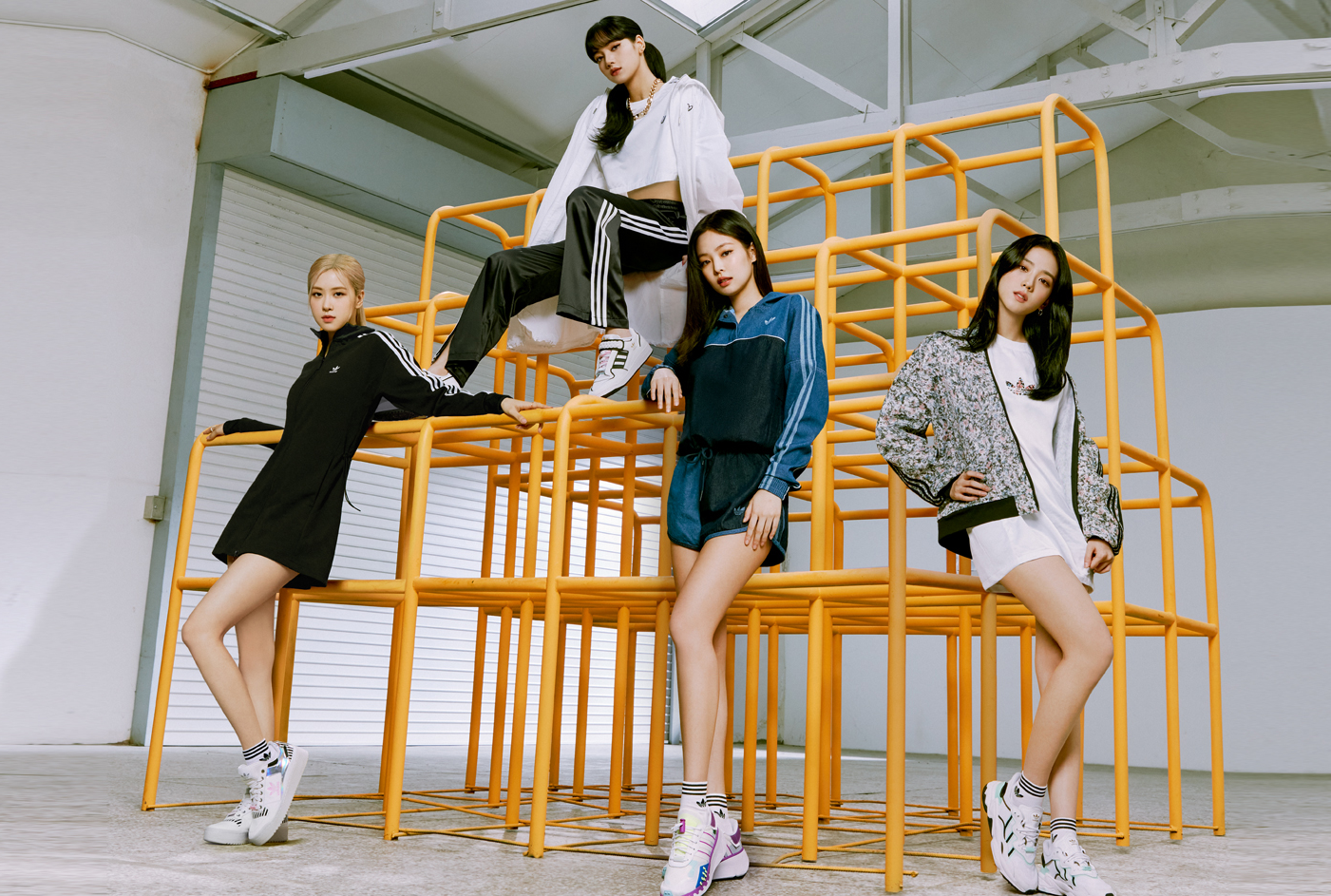 Blackpink Collaborates With Adidas On A New Activewear Collection