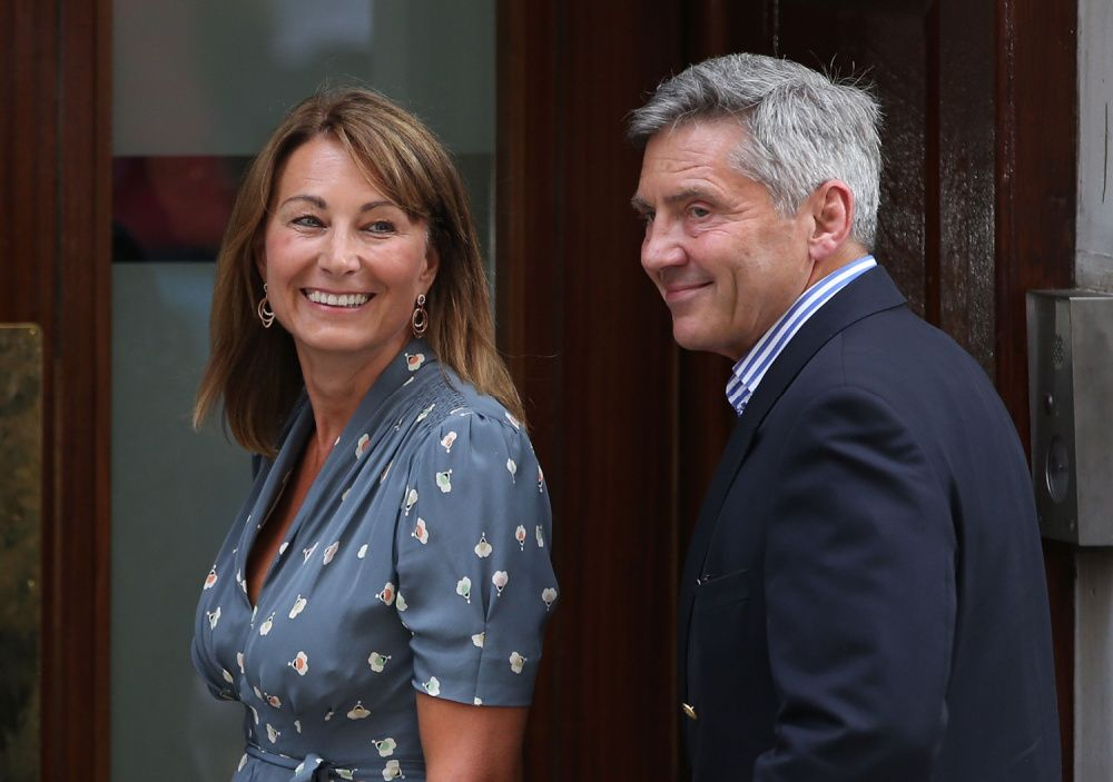 Carole and Michael Middleton, parents of Duchess of Cambridge Kate Middleton, pictured in 2013 (Photo by Peter Macdiarmid/Getty Images)