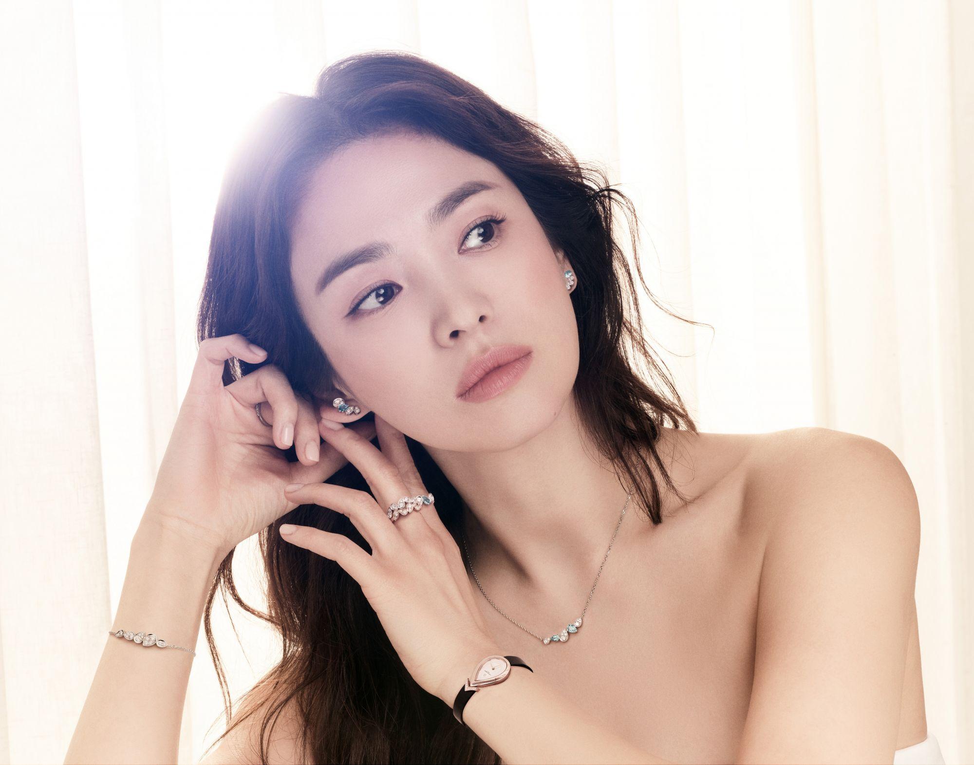Song Hye Kyo Embodies The Fine Qualities Of Chaumet's Josephine Jewellery