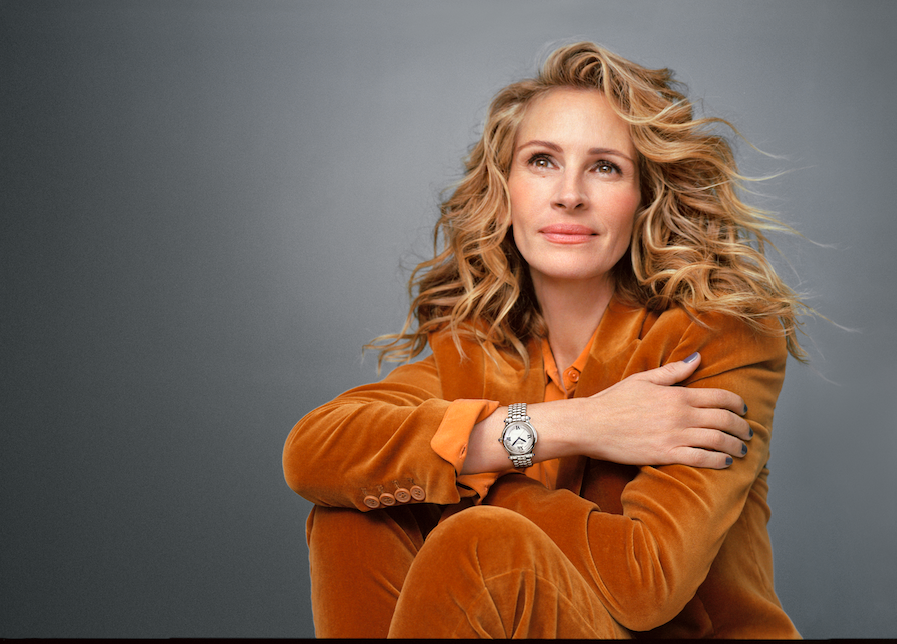 Julia Roberts Is The New Ambassador For Chopard's Happy Sport Watch