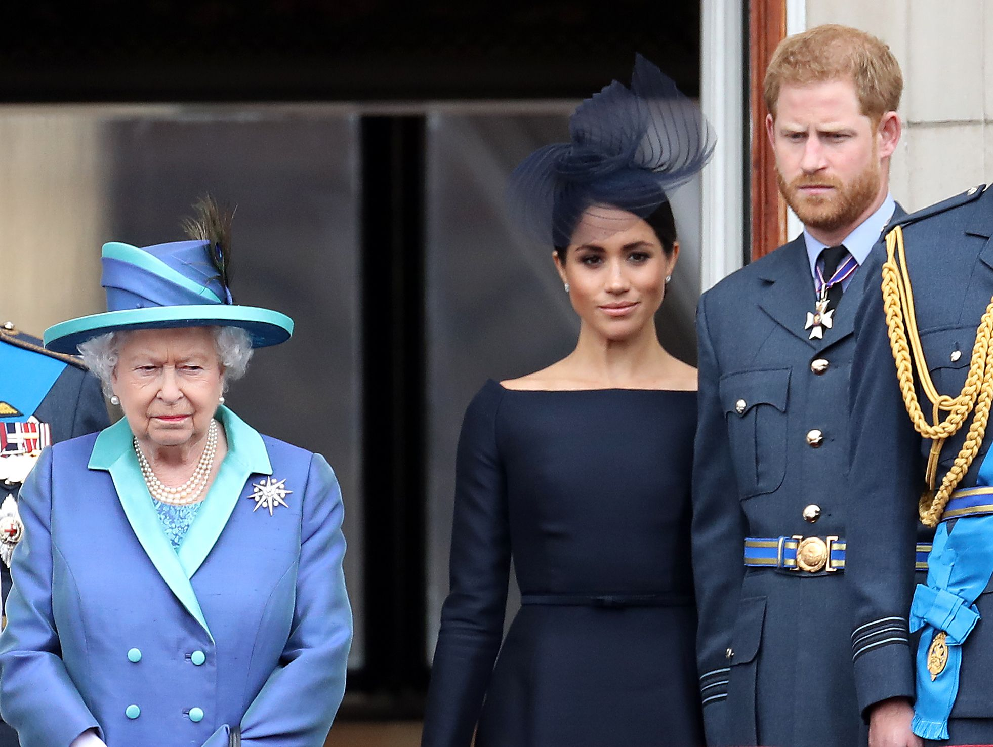 Buckingham Palace Reacts To Prince Harry and Meghan Markle's Interview