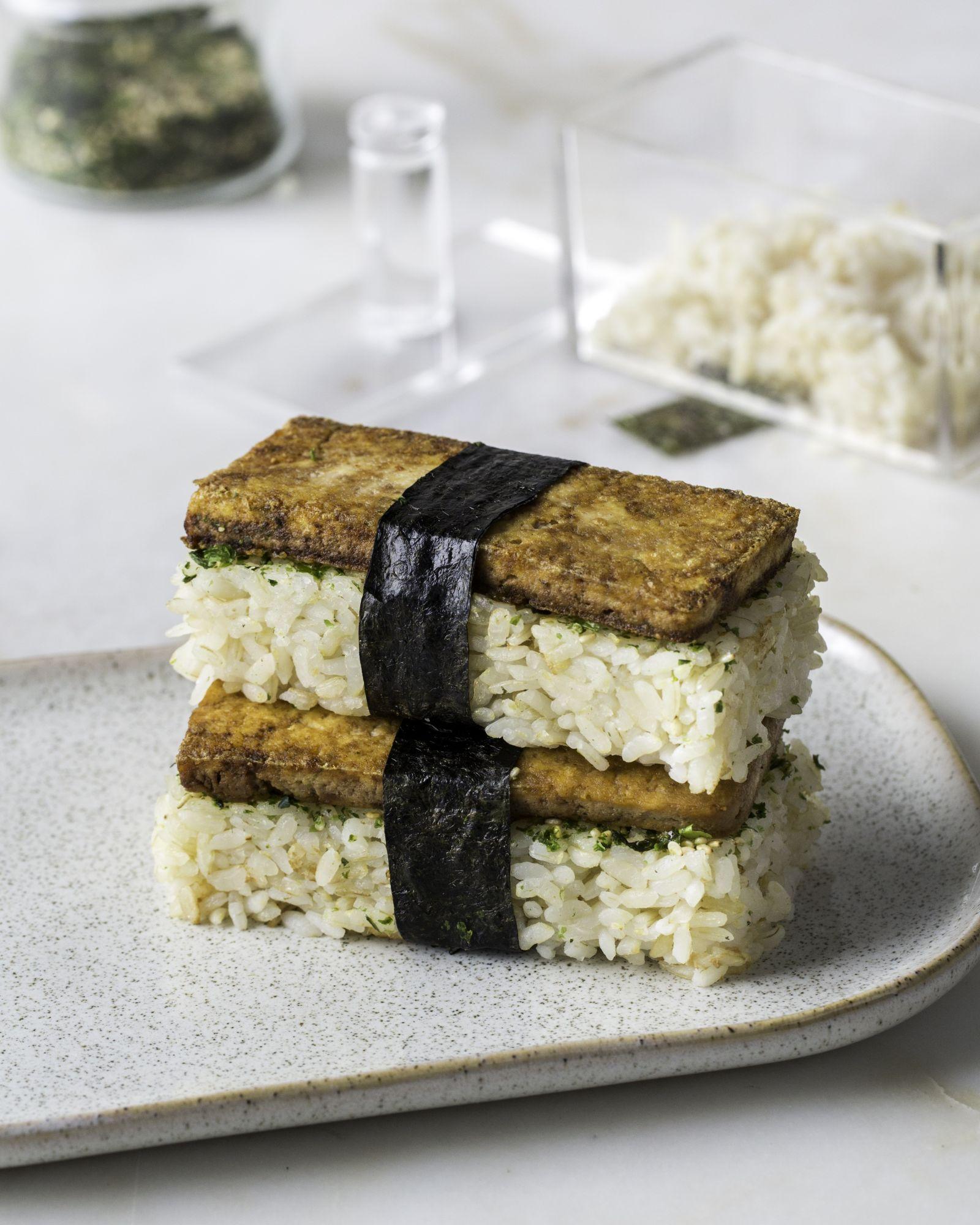 Teriyaki Tofu Musubi 1